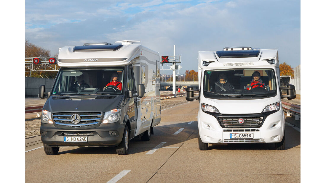 Mercedes Sprinter und Fiat Ducato
