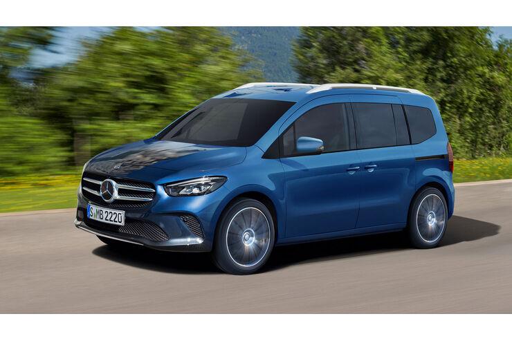 Mercedes Citan/T-Klasse (2021): Neue Minicamper-Basis in ...