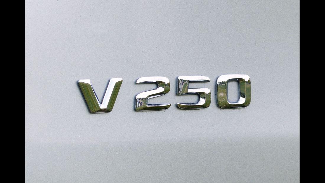 Mercedes V 250 Emblem