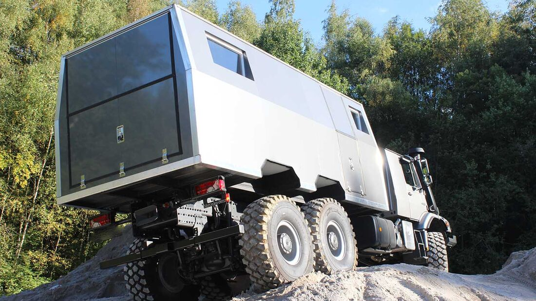Mercedes Zetros Expeditionswohnmobil