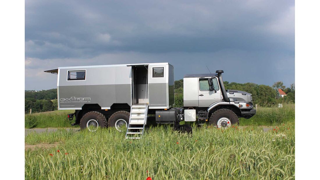 Mercedes Zetros Expeditionswohnmobil