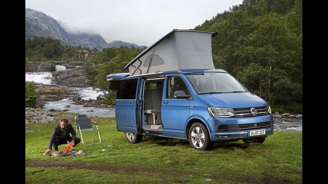 Mietmobil Campingbus VW California Ocean