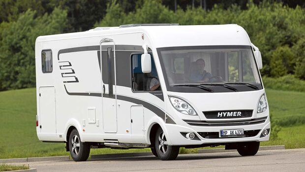 Mietmobil Integrierter Hymer