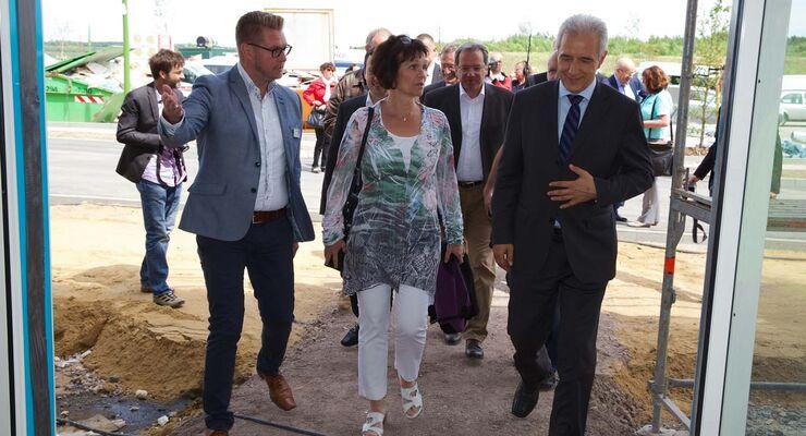 Ministerpräsident Stanislaw Tillich besucht Lagovida