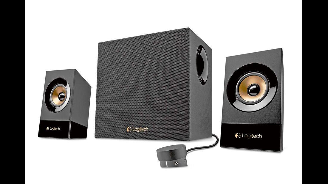 Mit einem Preis von 89 Euro ist das 2.1 Soundsystem Z533 von Logitech günstig.