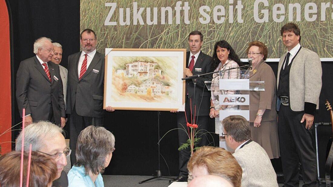Mit einem großen Festakt feierte Alko seine im Jahr 1961 gegründete erste Auslandstochtergesellschaft im Zillertal
