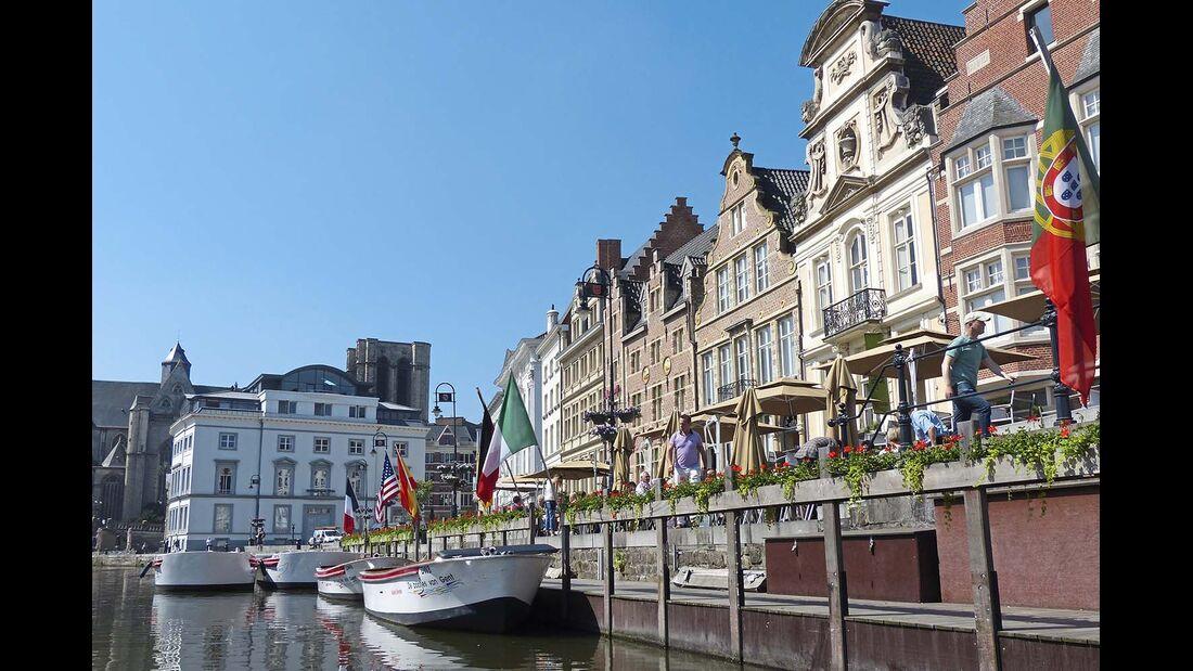 Mit gut 250 000 Einwohnern ist Gent nach Antwerpen die zweitgrößte Stadt in Flandern.