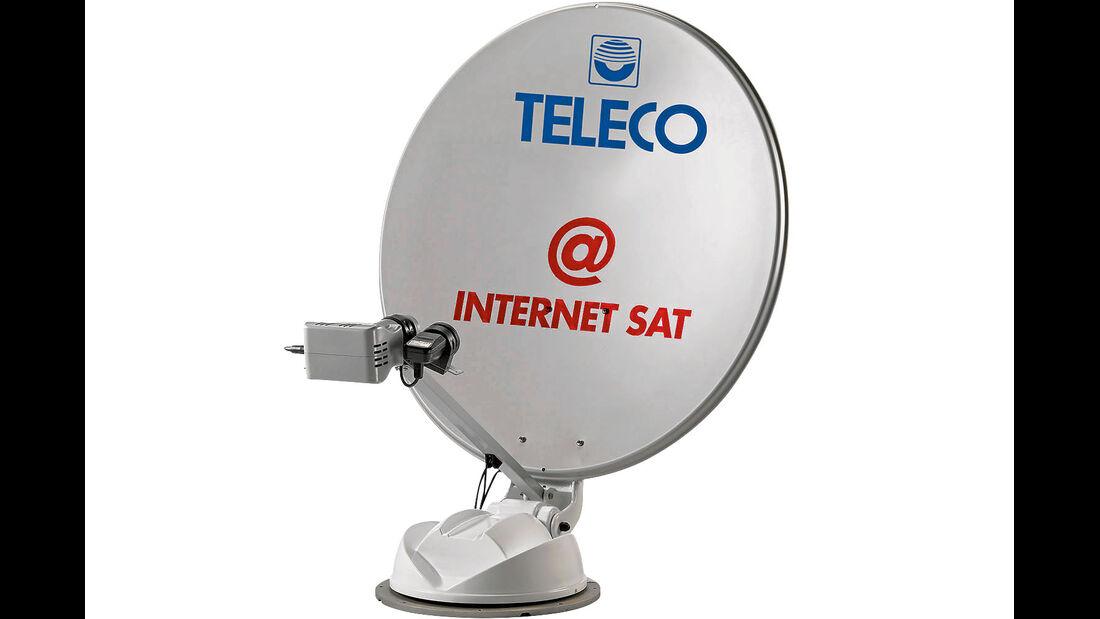 Mit manchen Antennen kann man auf der ganzen Welt surfen.