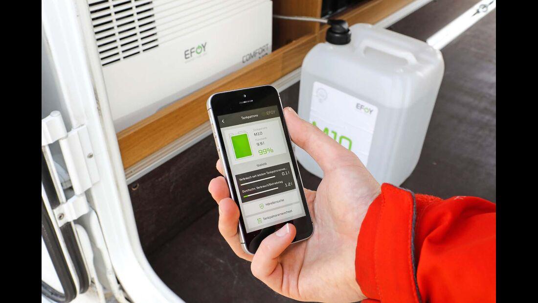 Mit myefoy ist der Stromverbrauch jederzeit detailliert im Blick.