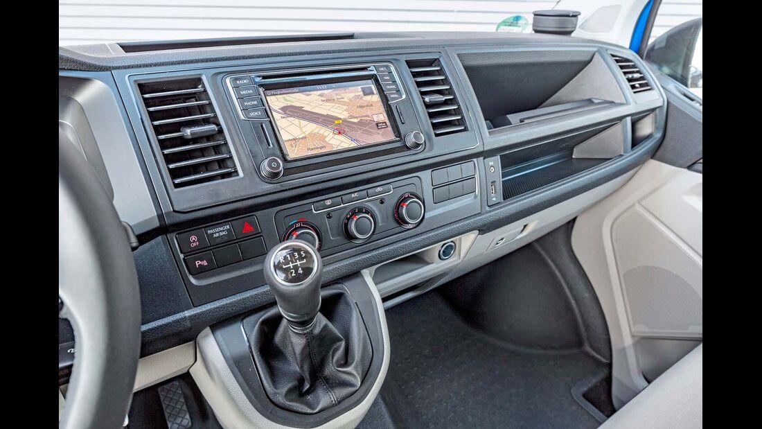 Mittelkonsole beim VW T6