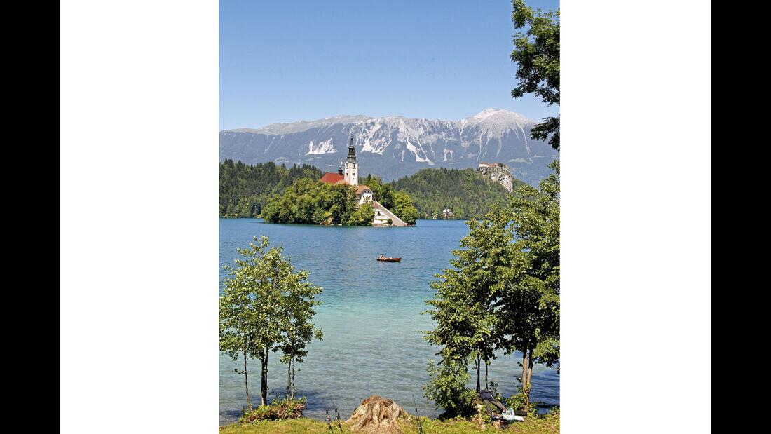Mobil-Tour: Alpen & Adria