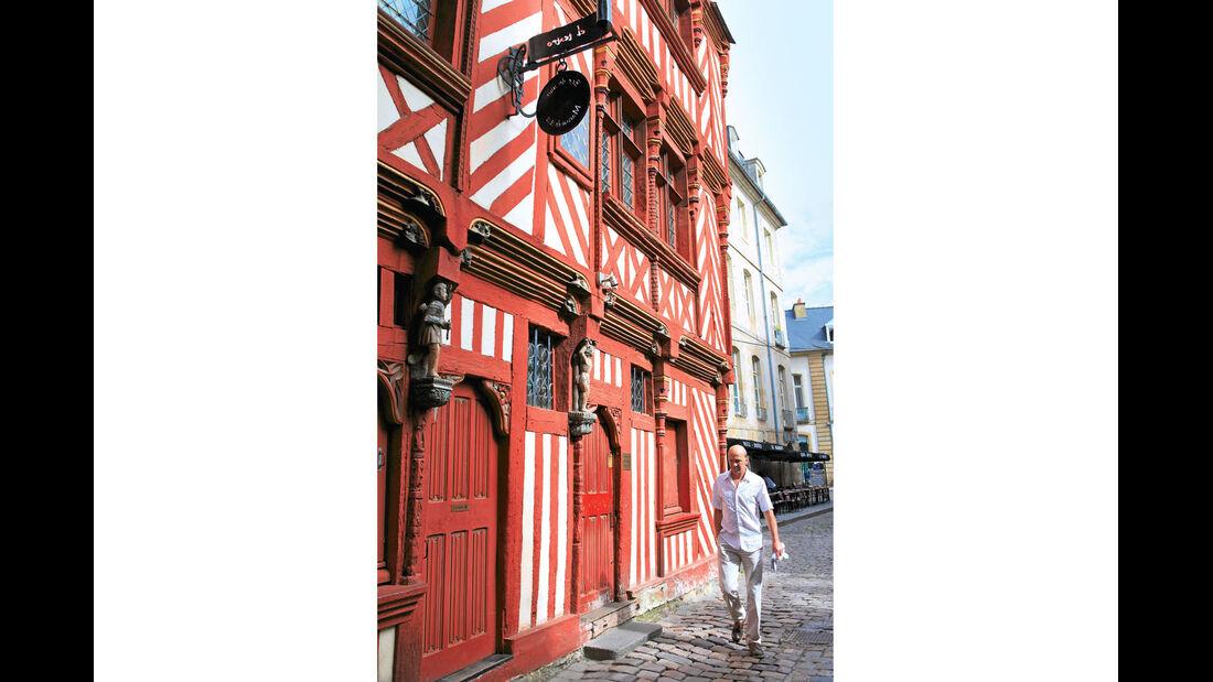 Mobil-Tour: Bretagne, Rennes