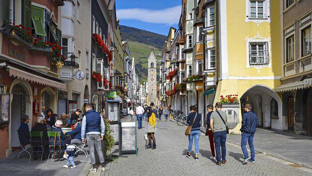 Mobil-Tour Deutschland, Österreich, Italien