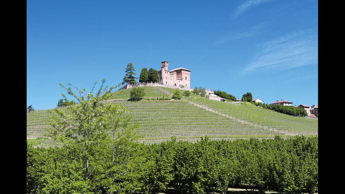 Mobil-Tour: Piemont, Castello di Grinzane Cavour von Mango