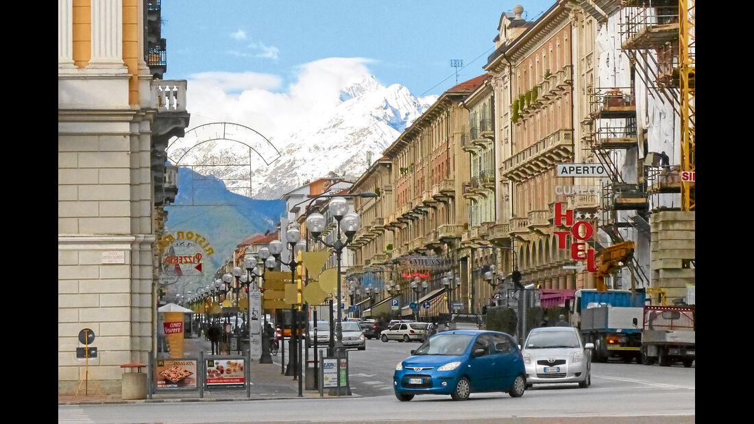 Mobil-Tour: Piemont, Corso Nizza