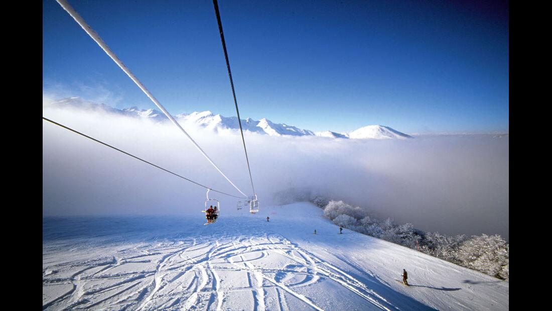 Mobil-Tour: Piemont, Skigebiet