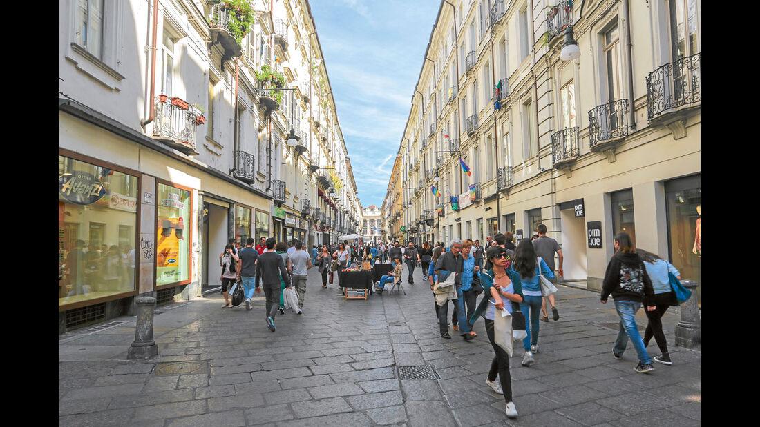 Mobil-Tour: Piemont, Turin