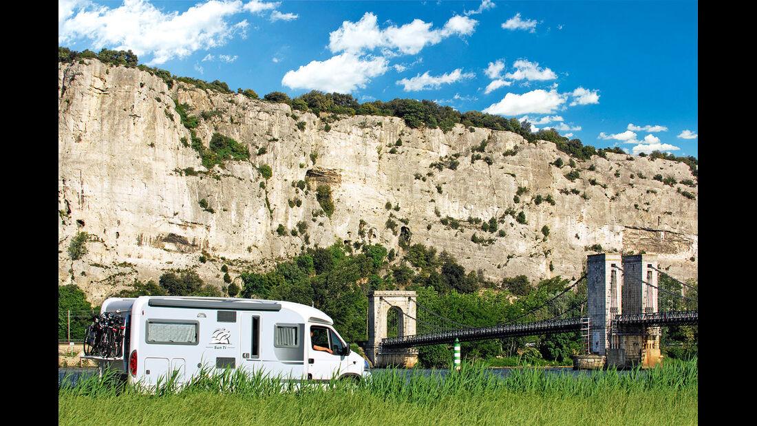 Mobil-Tour: Südfrankreich