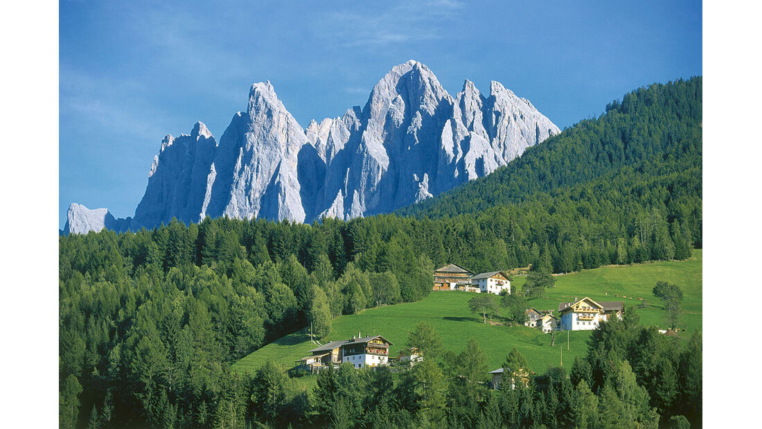 Mobil-Tour: Südtirol/Venetien