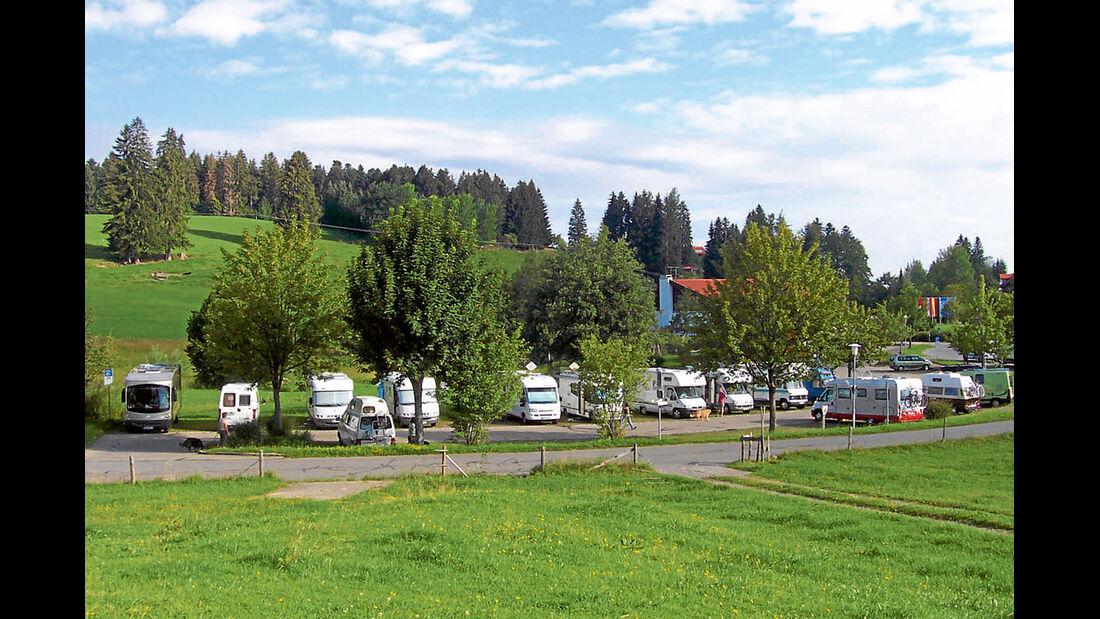 Mobil-Tour: Vorarlberg, Scheidegg