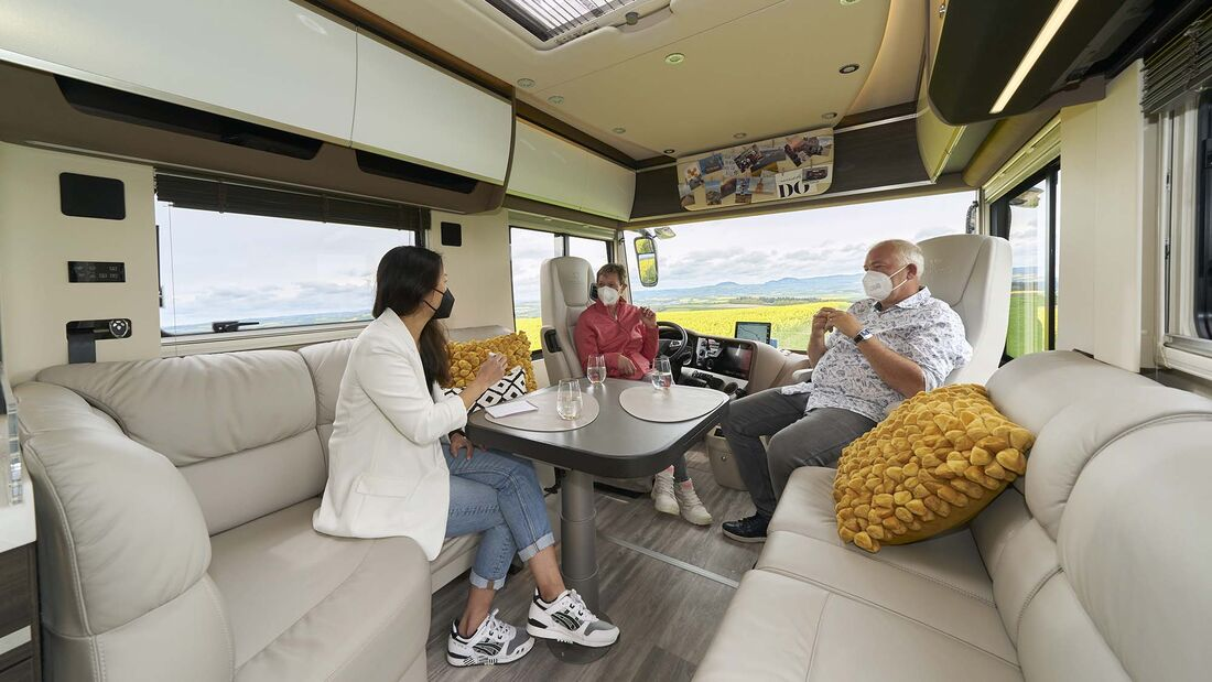 Mobile Menschen: Concorde Centurion Atego