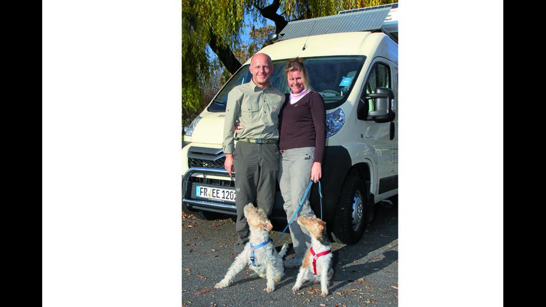 Mobile Menschen: Hans-Georg und Cornelia Wieber