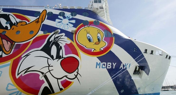 Moby Lines bietet auch die Möglichkeit, übers Smartphone zu buchen. Es gibt noch freie Fähren-Plätze über Pfingsten.