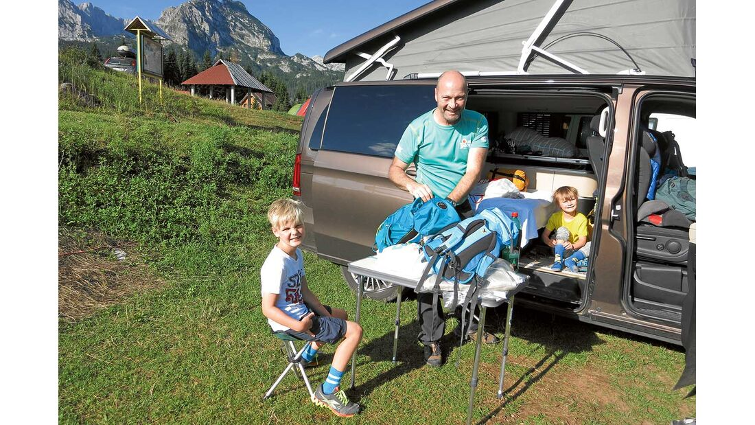 Montenegro Campingplatz