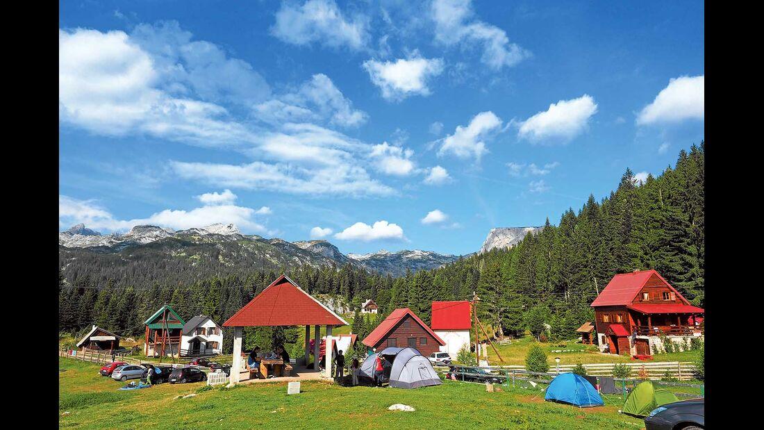 Montenegro Dumitor Camp Ivan Do