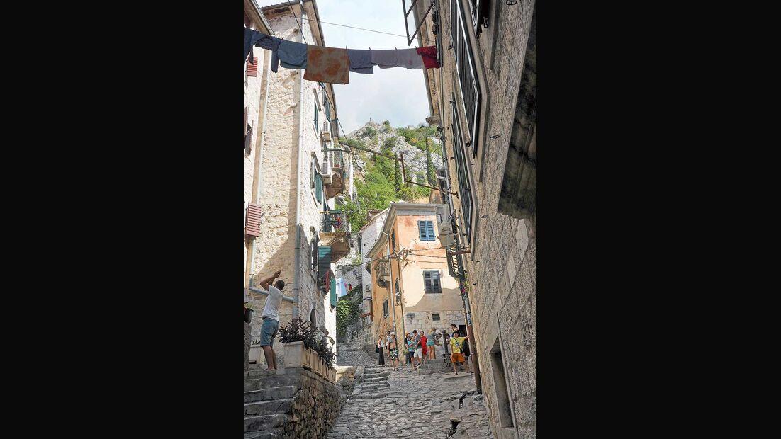 Montenegro Kotor Altstadtgasse