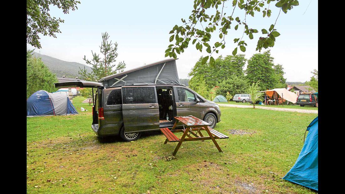 Montenegro Lustica Campingplatz