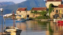 Montenegro Lustica Hafen