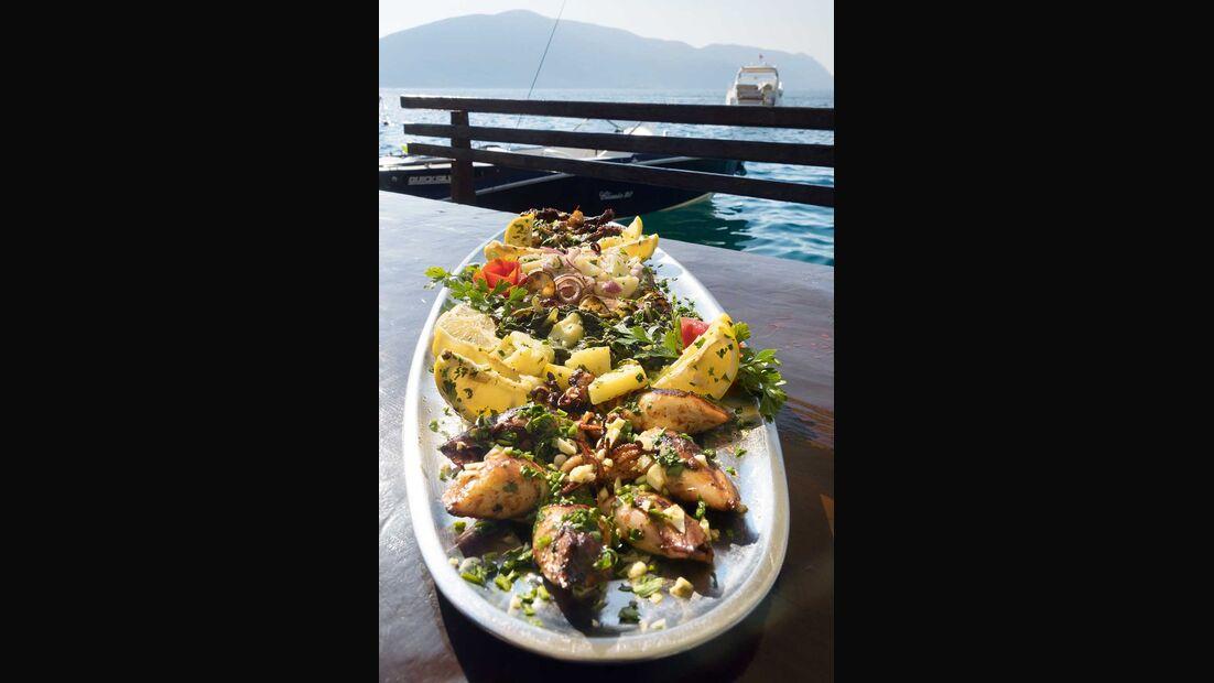 Montenegro Lustica Meeresfrüchte