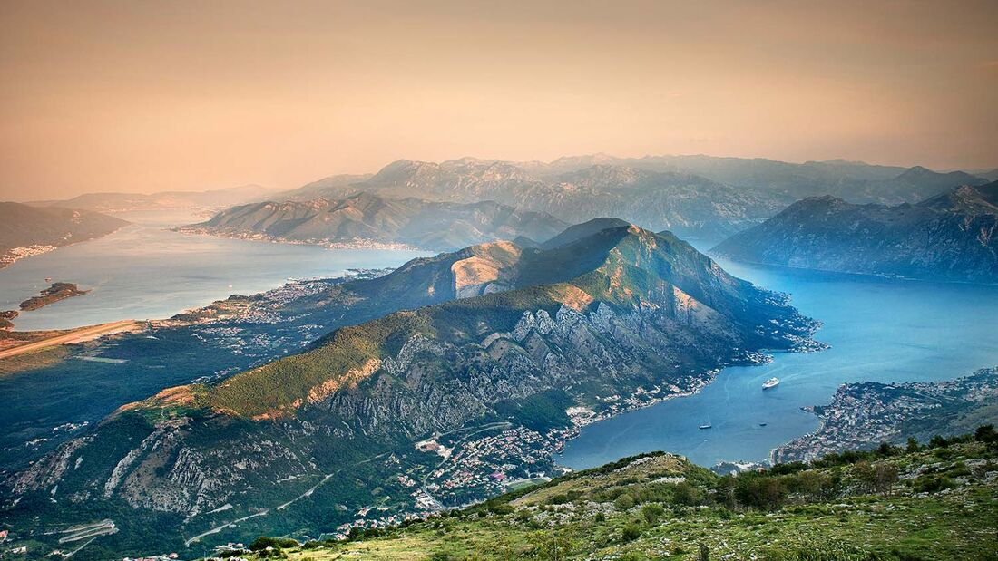 Montenegros Küste