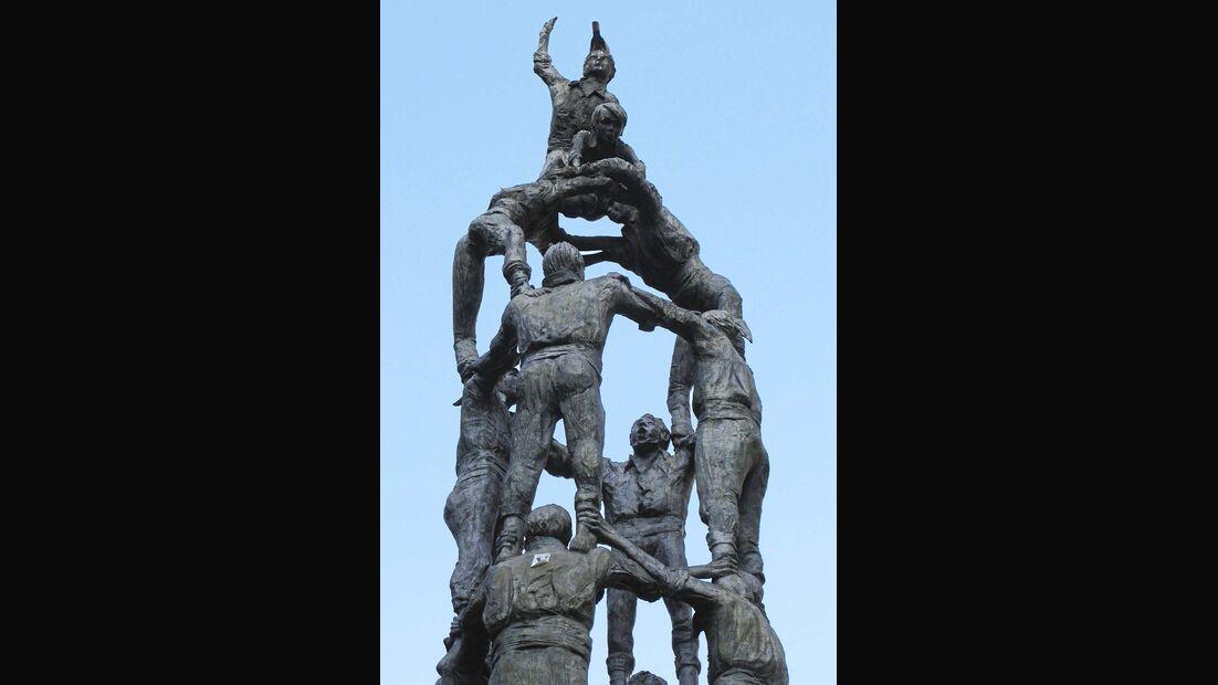 Monumento a los Castellers Tarragona