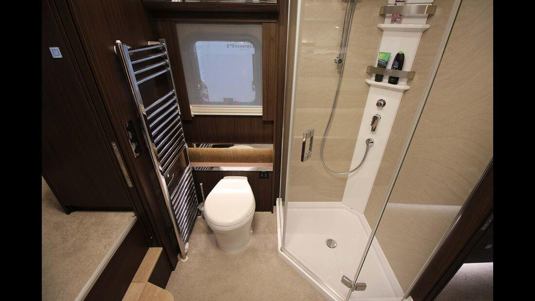 Morelo Empire Liner Silverstone Toilette, Dusche