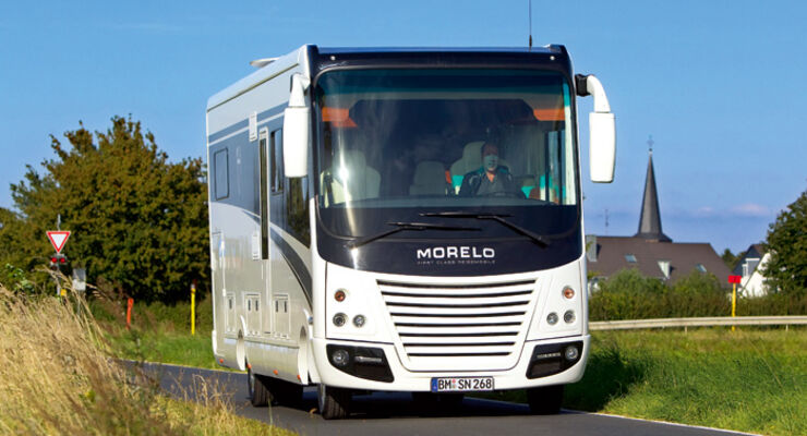 Morelo Palace Modell 2010 Vorderansicht