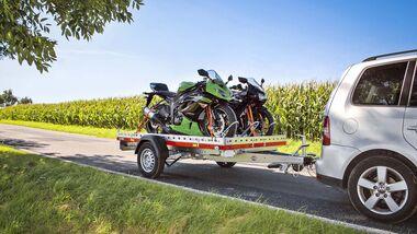 Motorrad-Anhänger Campingbus