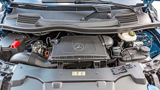 Motorraum Mercedes Vito