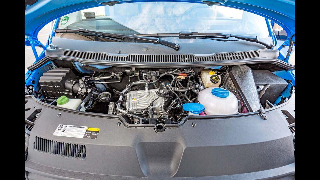 Motorraum beim VW T6