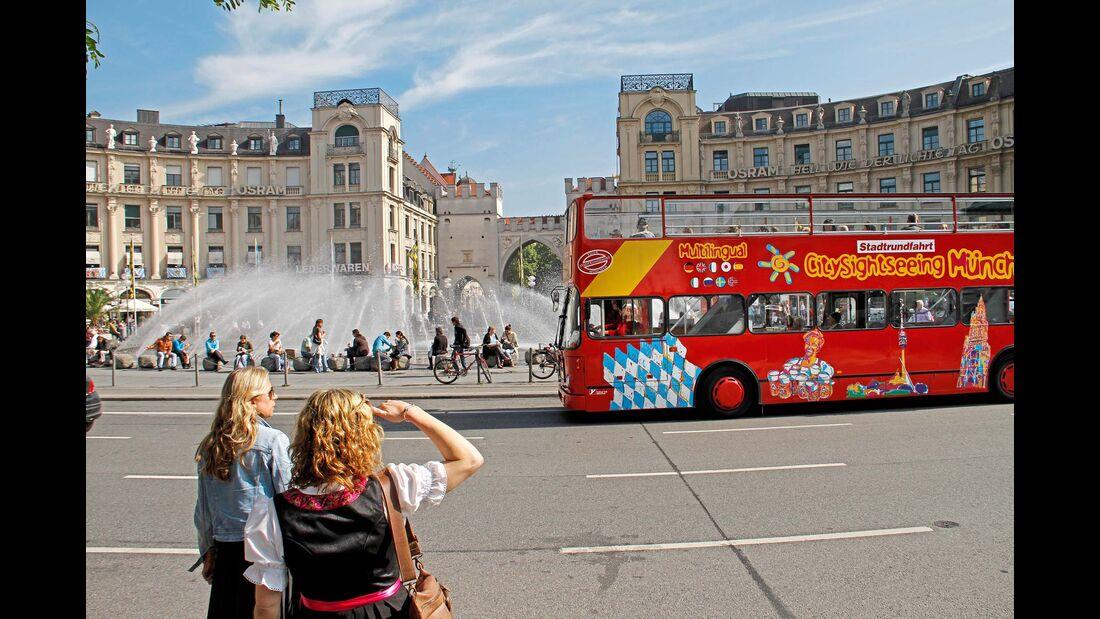 München Hopp on Hopp of Bus
