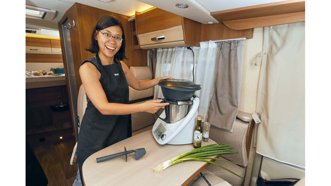 Multikocher sind nicht an den Einsatz in der Küche gebunden.