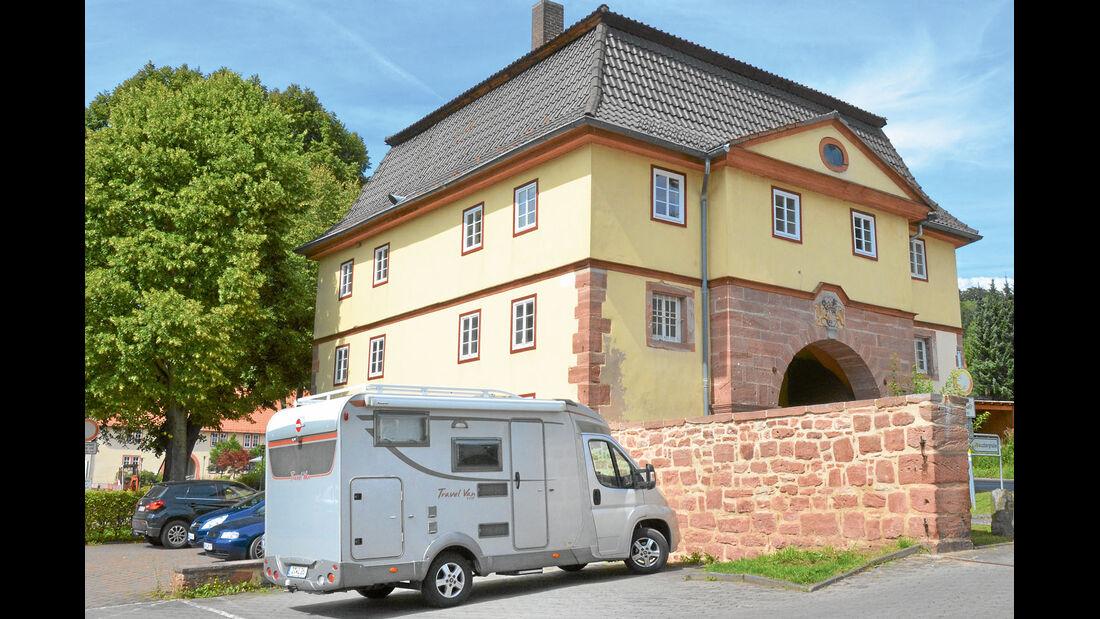 Museum mit Stellplatz in Philippsthal