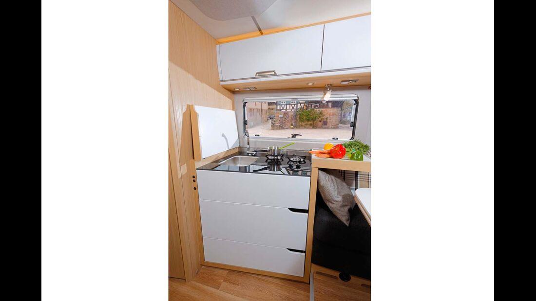 N+B, Küche