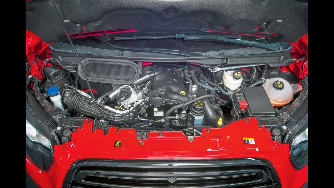Nach 60 000 km oder zwei Jahren fordern die Euro-6-Motoren eine Inspektion