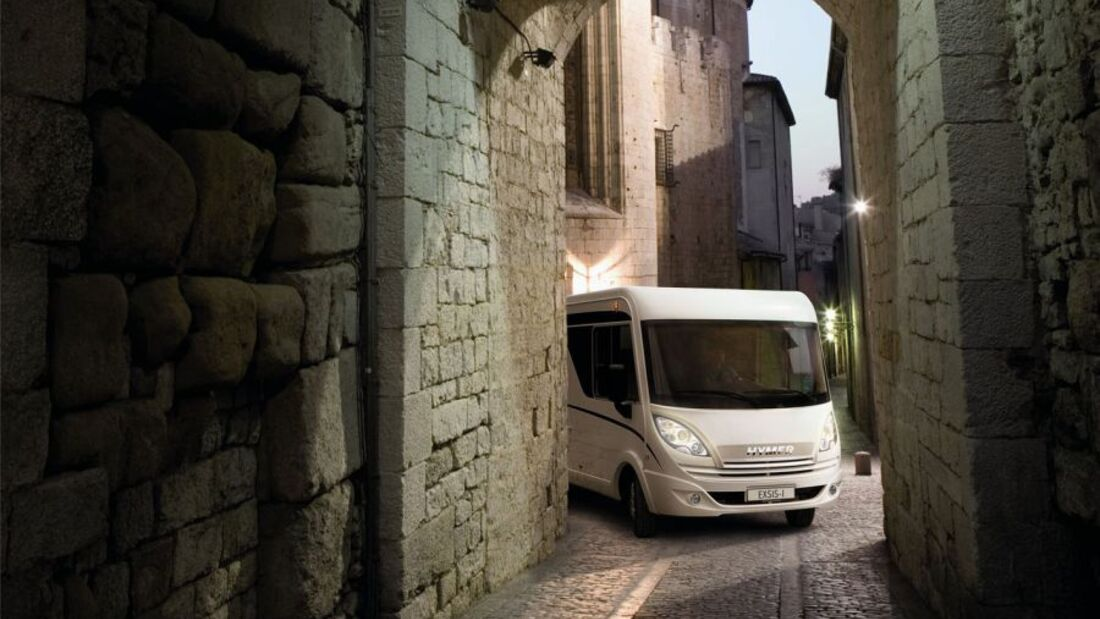 Nach Ansicht von Hymer sind Reisemobile attraktive Anlageobjekte für Urlaubsliebhaber.