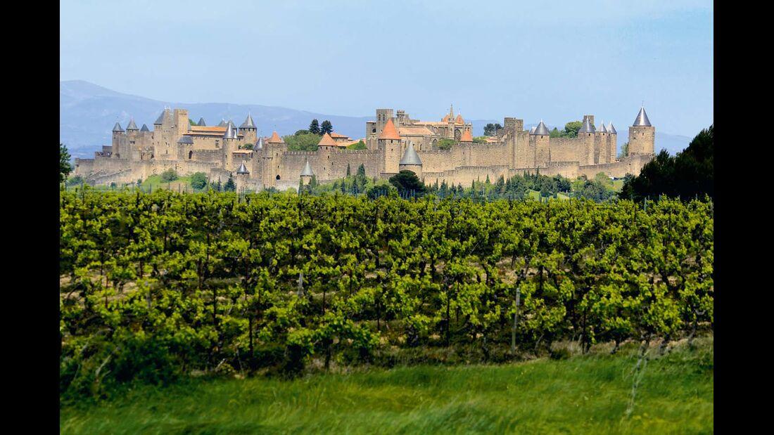 Nach den Katharerkriegen bot Carcassonne den bestmöglichen Schutz vor Angreifern.