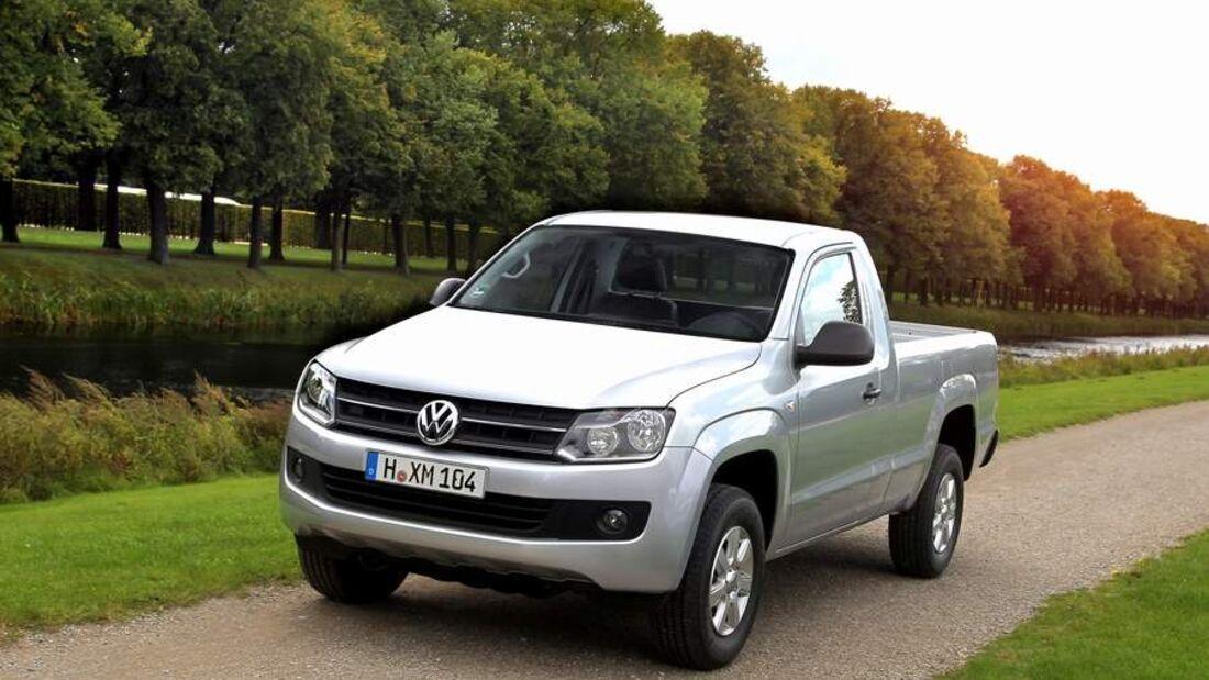 Nach der Einführung des Pickup Amarok mit Doppelkabine kommt nun die Variante mit kurzer Kabine und langer Ladefläche