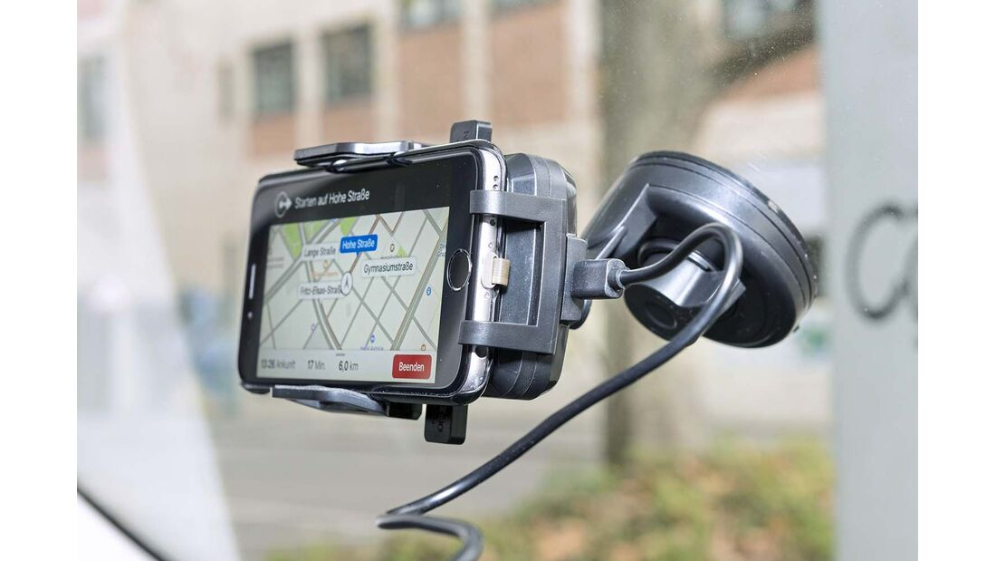 Navigations-Apps Halterung Pearl