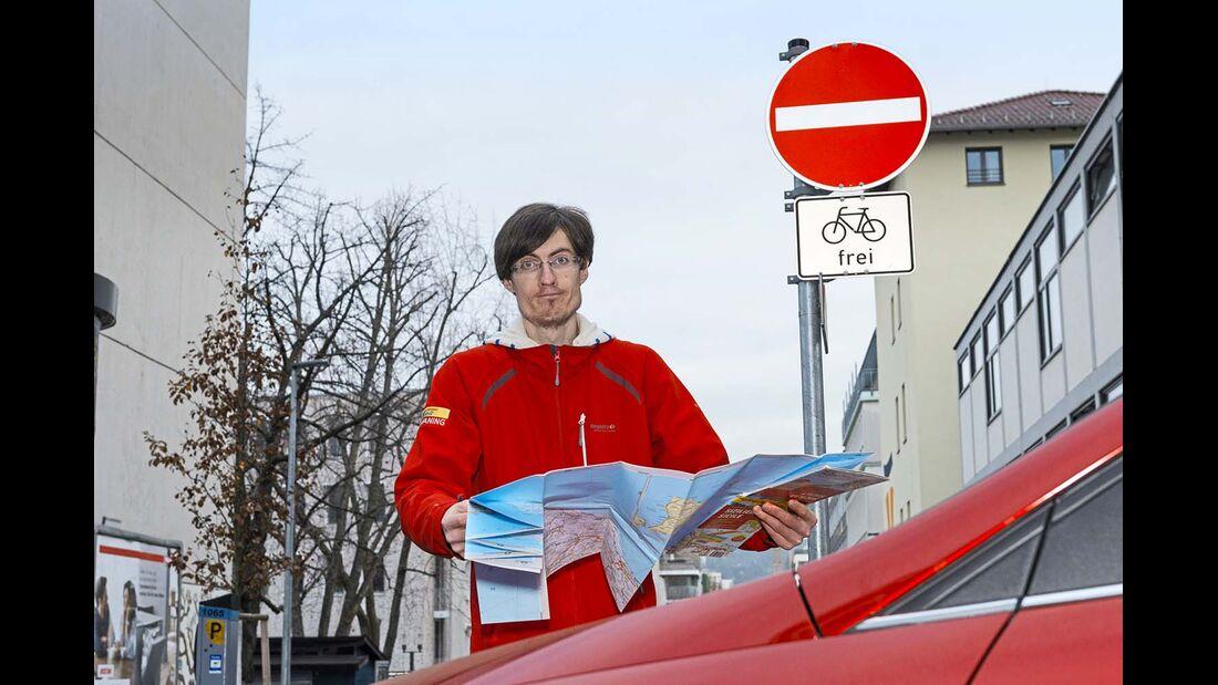 Navigations-Apps Straßenkarte